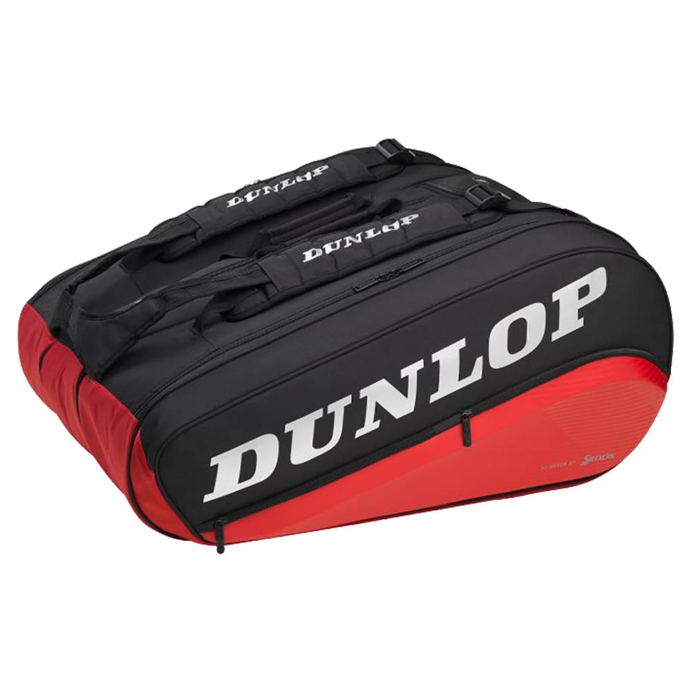 Cx Performance 12 Racquet Thermo Tennis Bag Black And Red