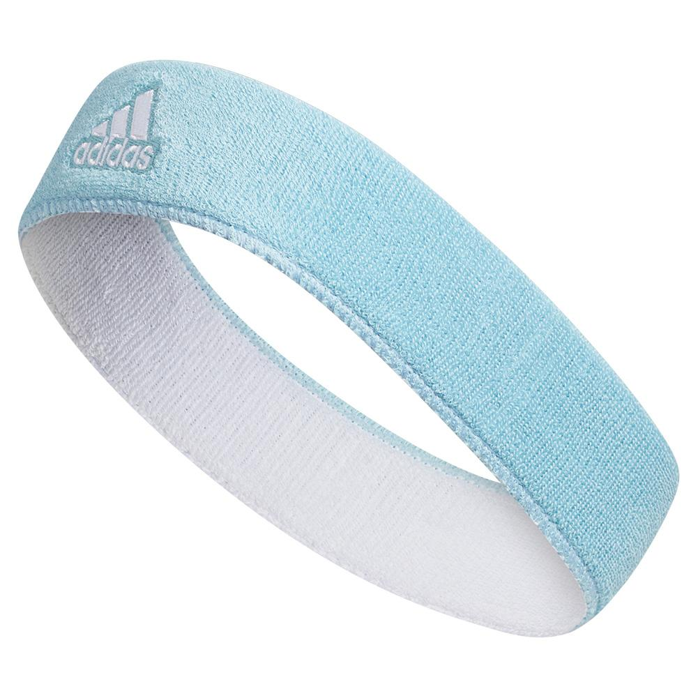 Interval Reversible Tennis Headband Team Light Blue And White