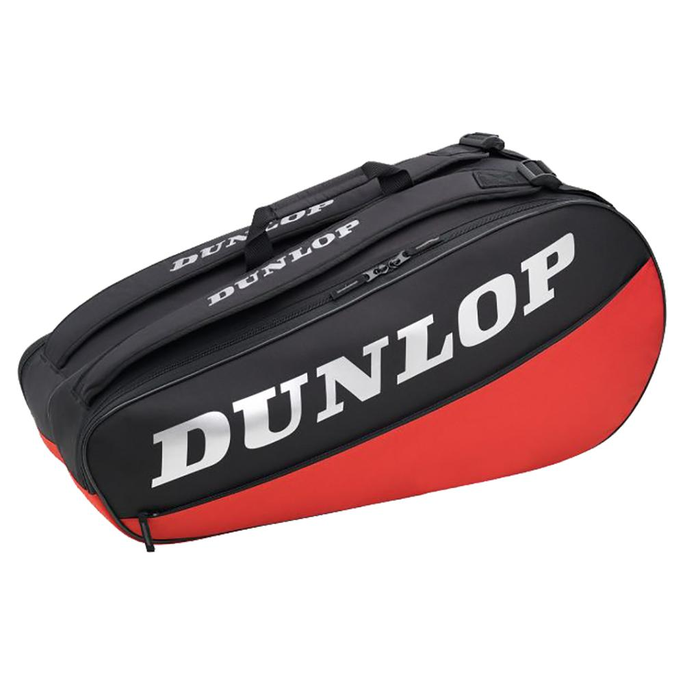 Cx Club 6 Racquet Tennis Bag Black And Red