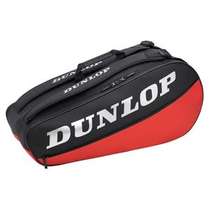 CX Club 6 Racquet Tennis Bag Black and Red