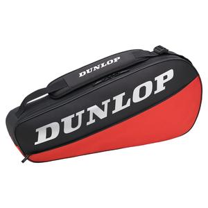 CX Club 3 Racquet Tennis Bag Black and Red