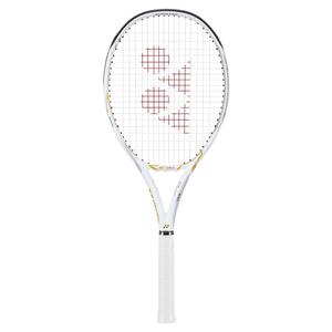Limited Edition EZONE 100 White and Gold Tennis Racquet