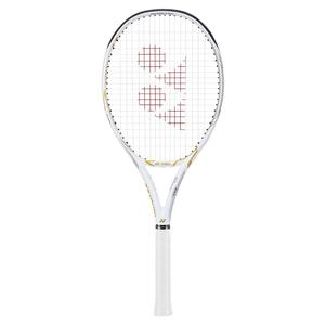 Limited Edition EZONE 100L White and Gold Tennis Racquet