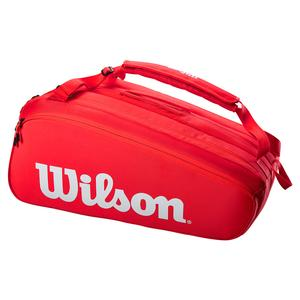 Super Tour 15 Pack Tennis Bag Red