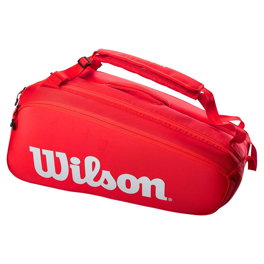 Super Tour 9 Pack Tennis Bag Red