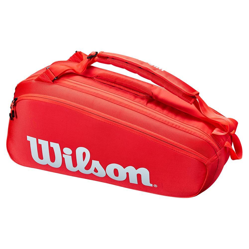 Super Tour 6 Pack Tennis Bag Red
