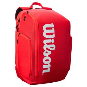 Super Tour Tennis Backpack Red