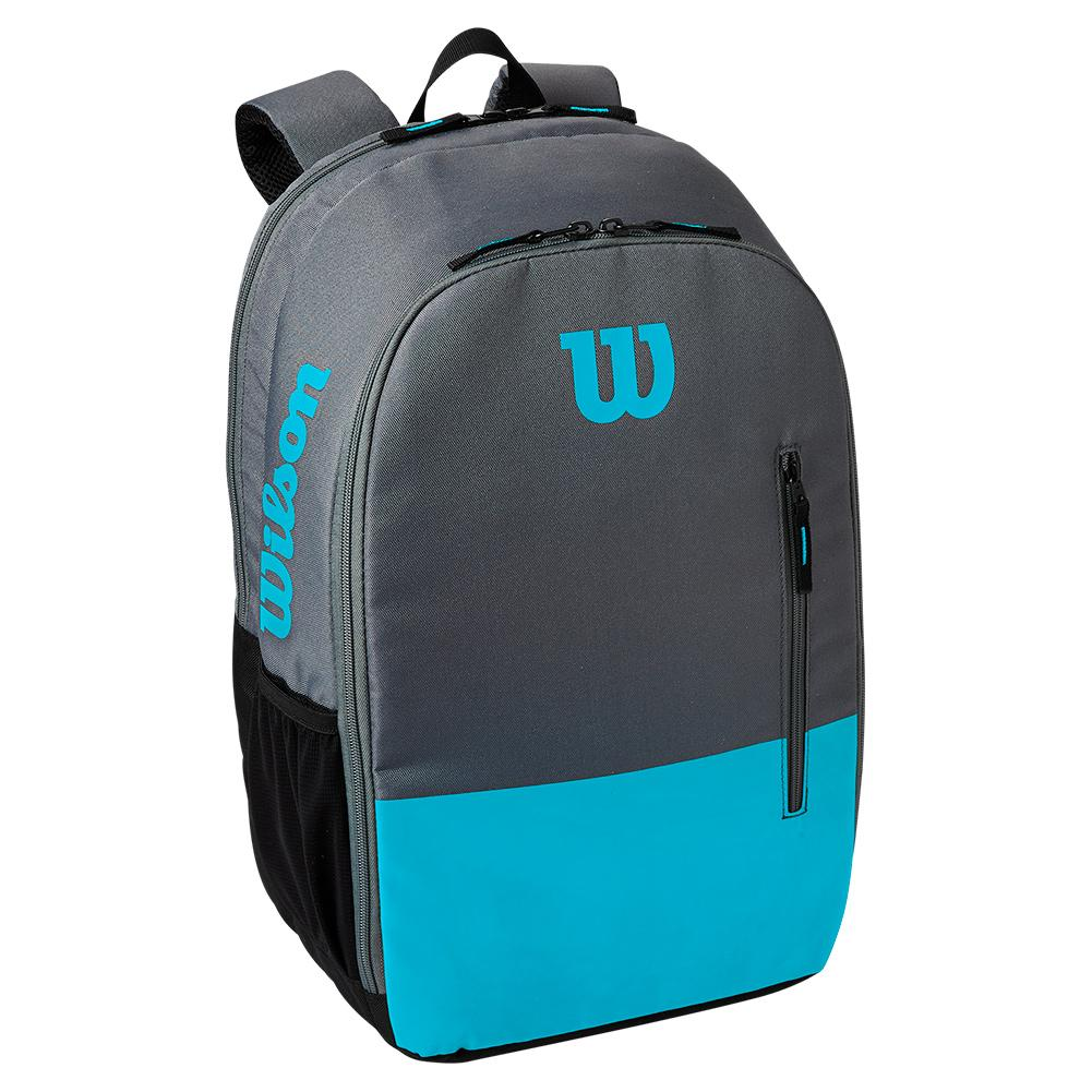Team Tennis Backpack Blue And Gray