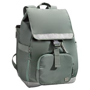 Women`s Fold Over Tennis Backpack Green