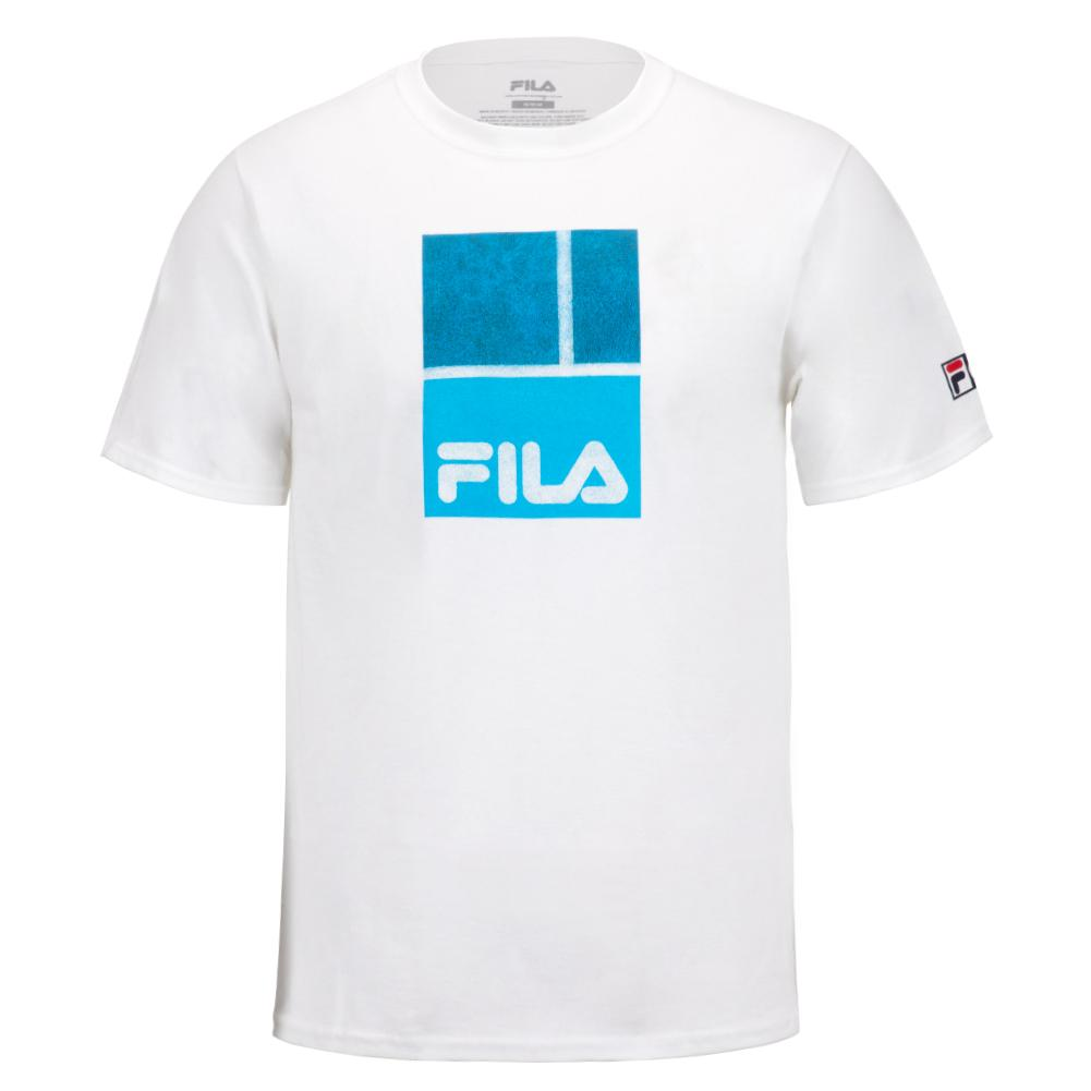 Men's Aussie Tennis Tee White
