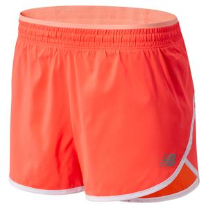 Women`s Accelerate 2.5 Inch Performance Short Vivid Coral