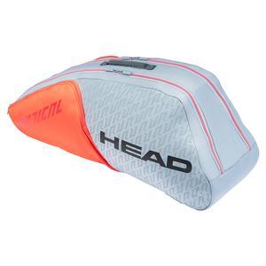 Radical 6R Combi Tennis Bag Grey and Orange