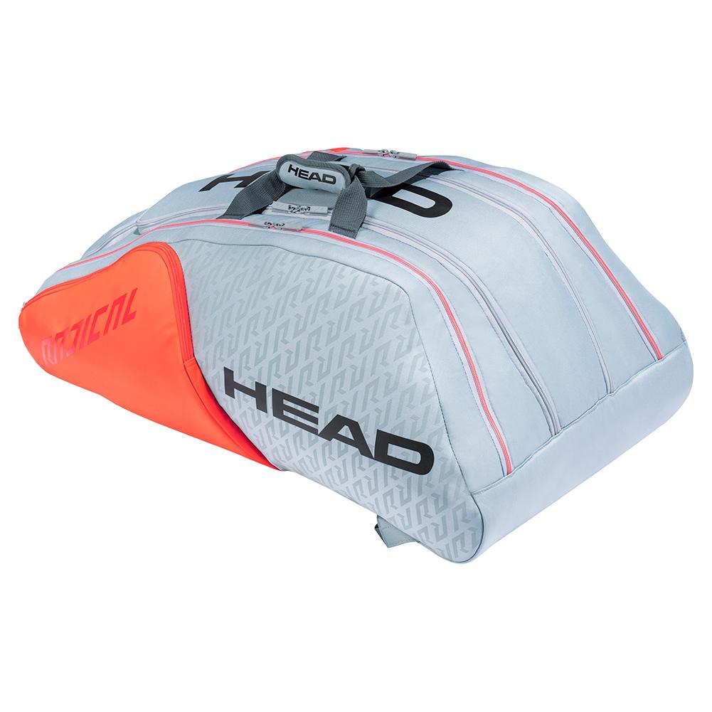 Radical 12r Monstercombi Tennis Bag Grey And Orange
