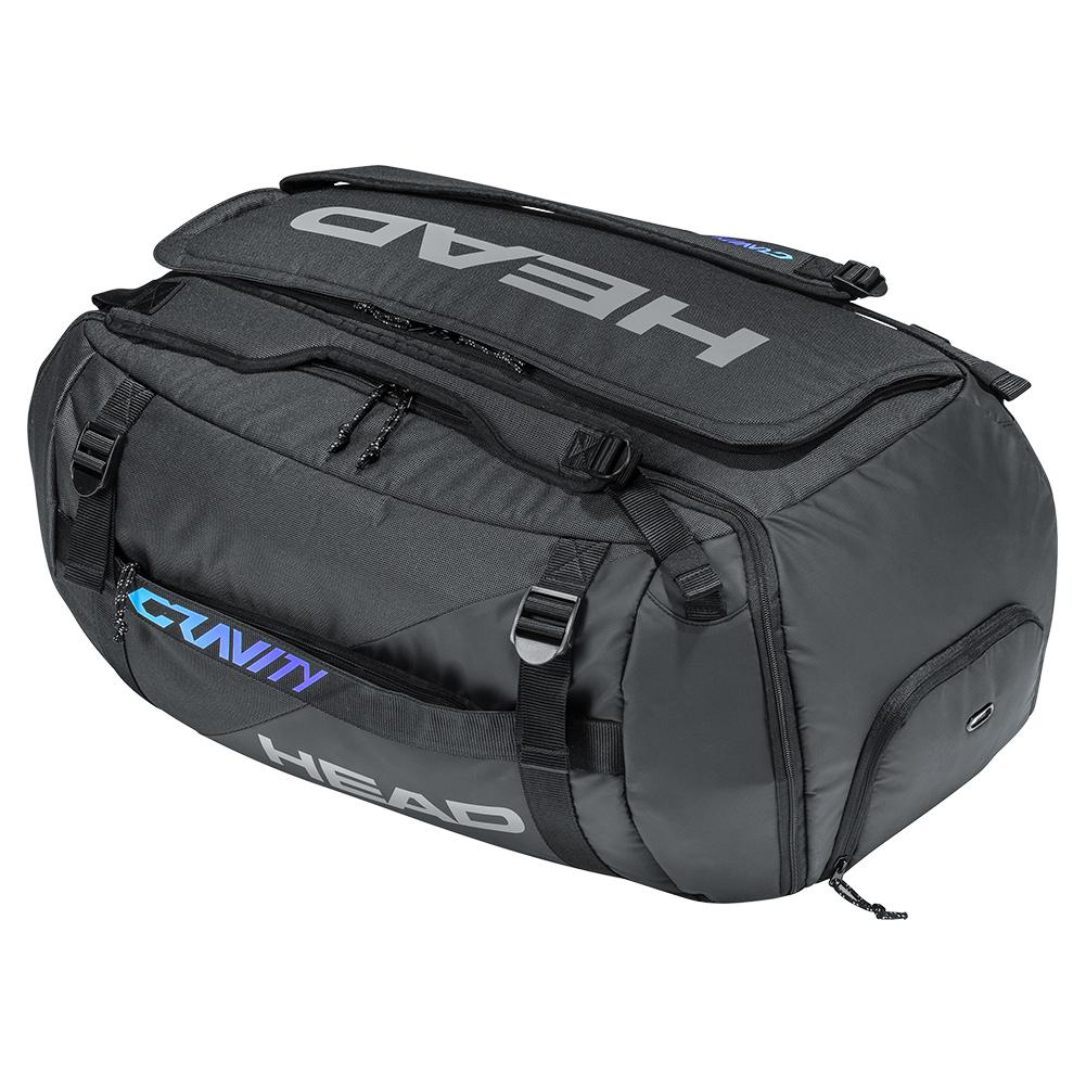 Gravity Tennis Duffle Bag Black And Mixed
