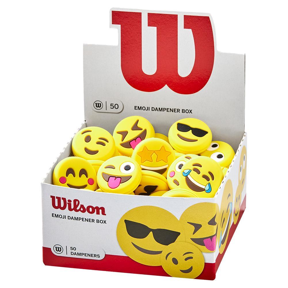 Emoji Tennis Dampener Box 50 Pack