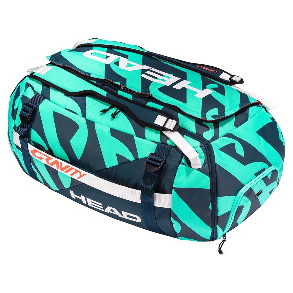 Gravity R- Pet Tennis Duffle Bag Teal And Navy