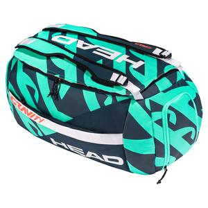 Gravity r-PET Tennis Sport Bag Teal and Navy