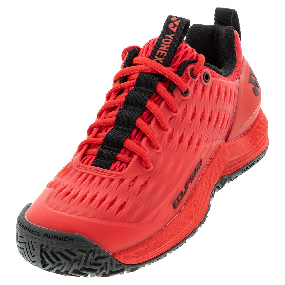 Men's Power Cushion Eclipsion 3 Tennis Shoes Red