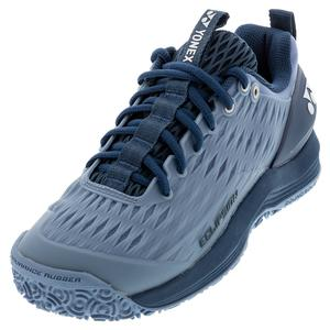 Men`s Power Cushion Eclipsion 3 Clay Tennis Shoes Mist Blue