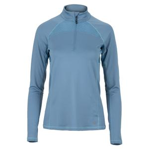 Women`s Altitude 1/4 Tennis Zip Cameo Blue
