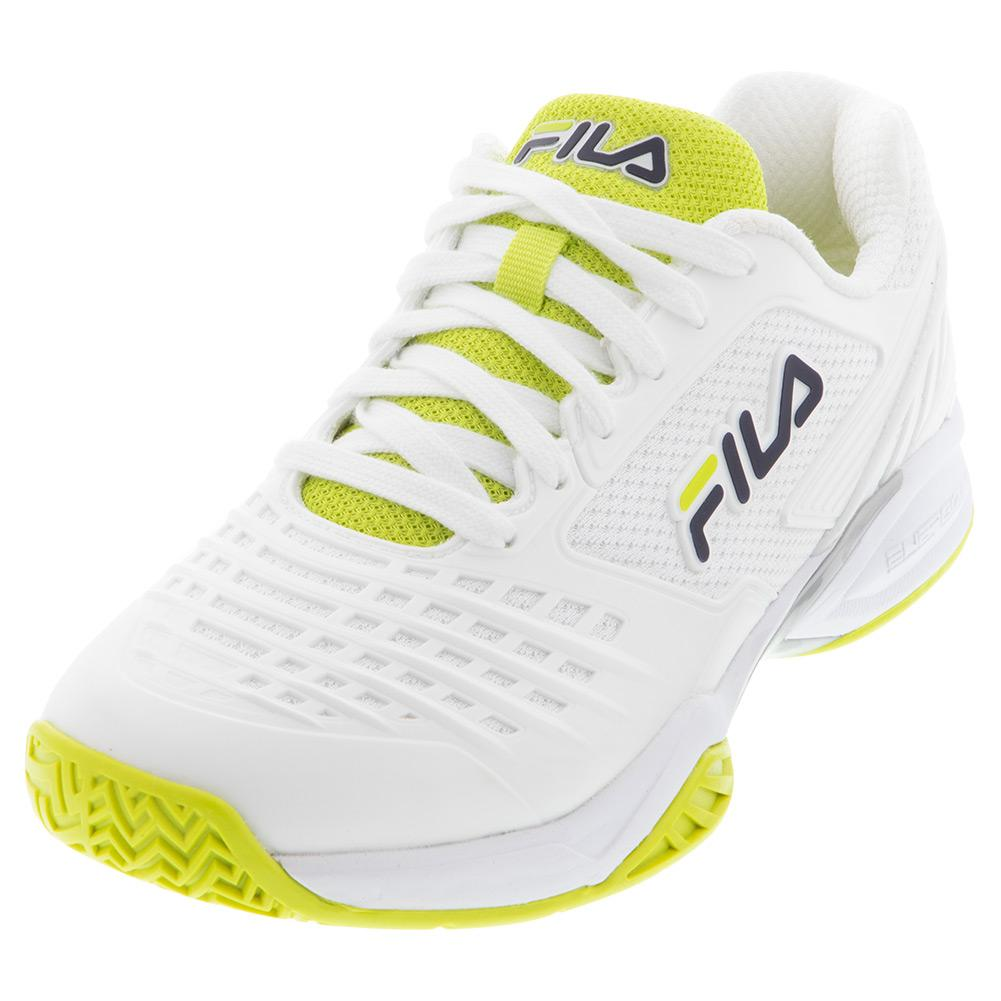Women's Axilus 2 Energized Tennis Shoes White And Yellow