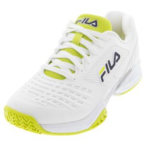 Women`s Axilus 2 Energized Tennis Shoes White and Yellow