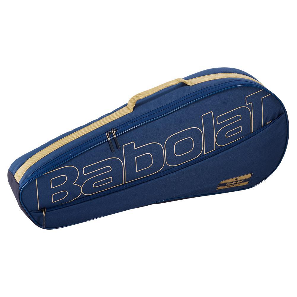 Club Essential Racquet Holder X 3 Tennis Bag Dark Blue