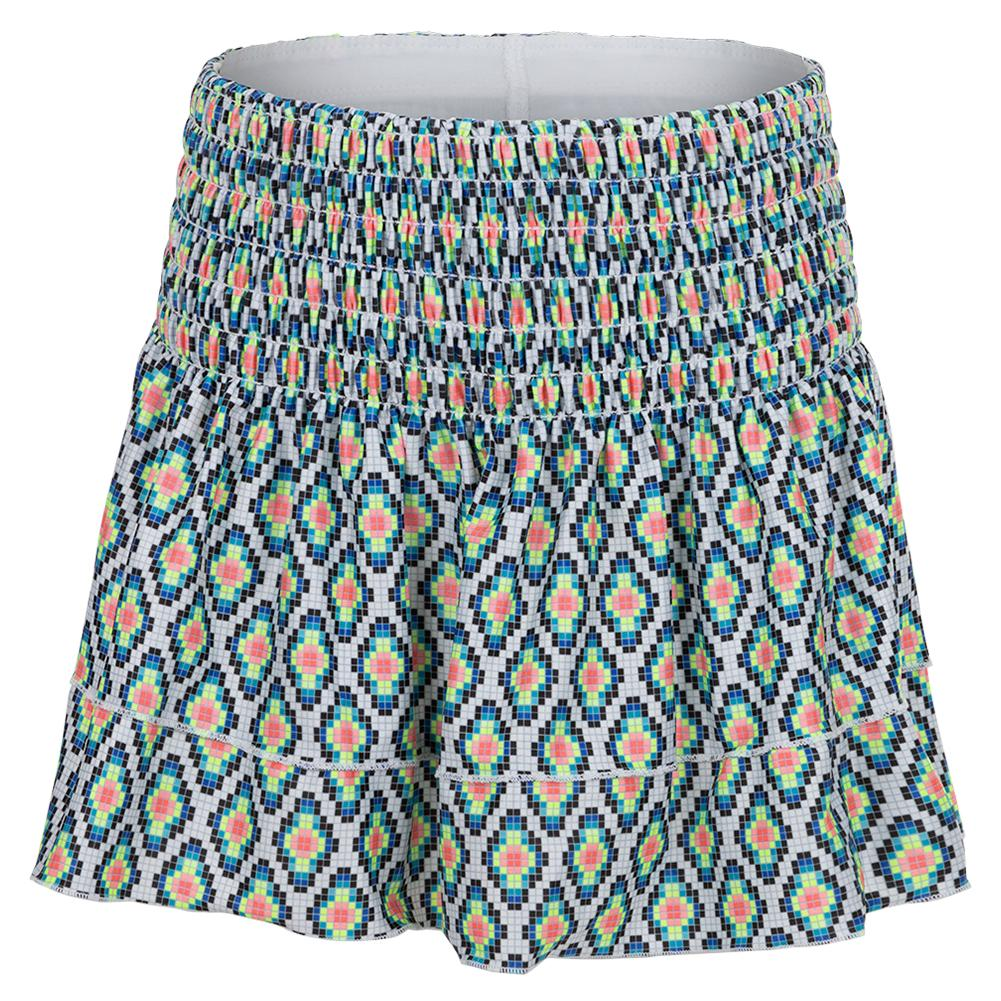 Girls'smocked Tennis Skort Square Are You