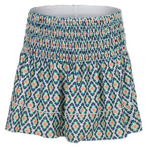 Girls` Smocked Tennis Skort Square Are You