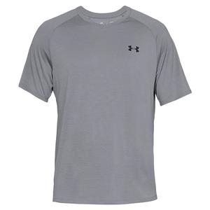 Men`s UA Tech 2.0 V-Neck Steel and Black