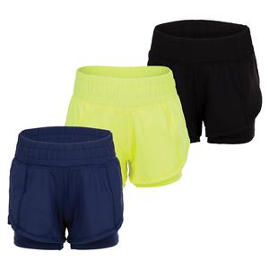 Girls` Match Point Tennis Short