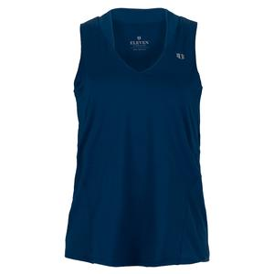 Women`s Truest Love Tennis Tank Jeweled Blue