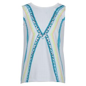 Girls` Tie Back Tennis Tank Square Are You