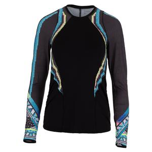 Women`s Long Sleeve Tennis Top Square Are You
