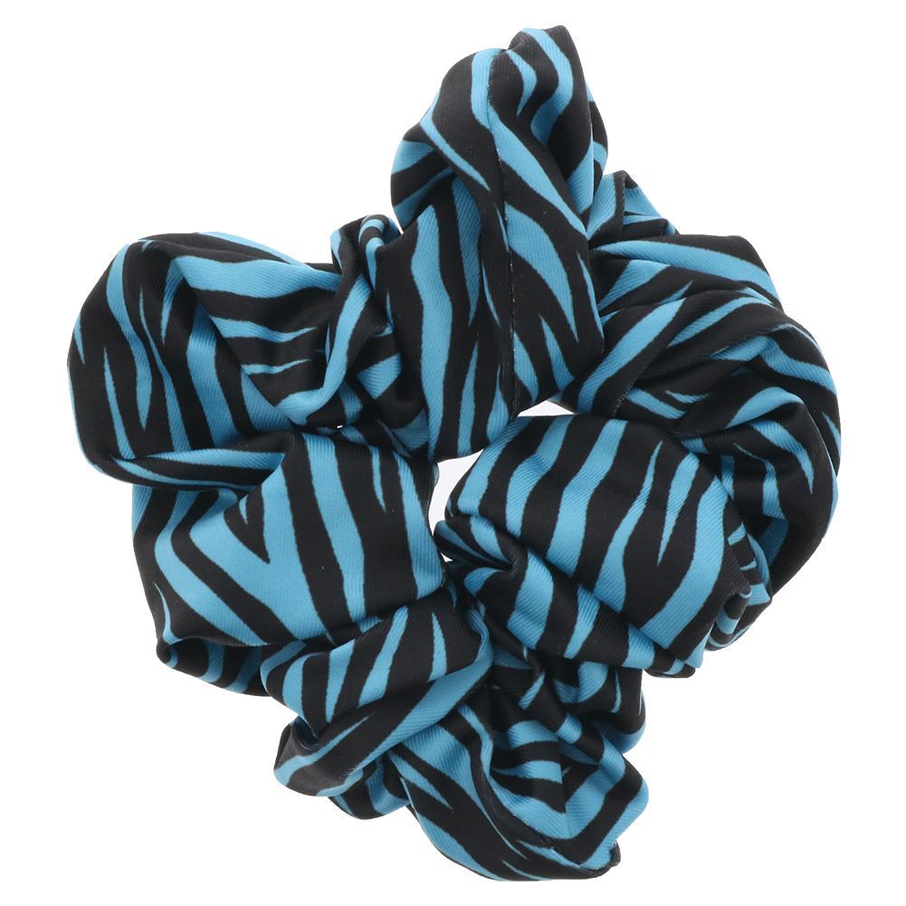 Women's Gathered Tennis Hair Tie Large Printed