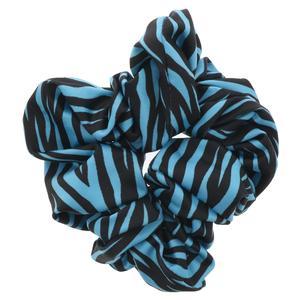 Women`s Gathered Tennis Hair Tie Large Printed