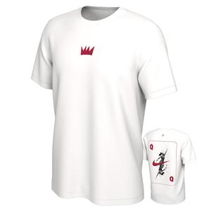 Serena Williams Court Queen of the Court Tennis Tee White