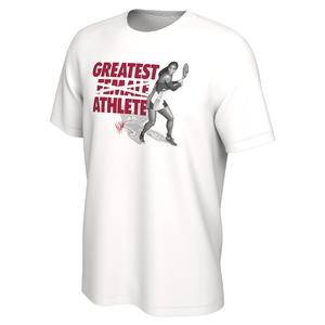 Serena Williams Court G.O.A.T. Tennis Tee White