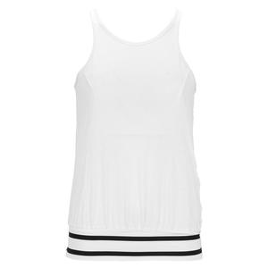 Women`s Audrey Tennis Cami White and Black