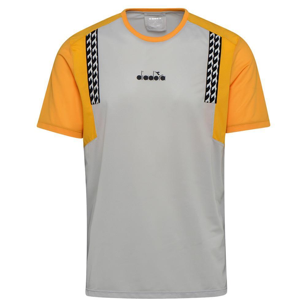 Men's Clay Short Sleeve Tennis Top