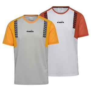 Men`s Clay Short Sleeve Tennis Top