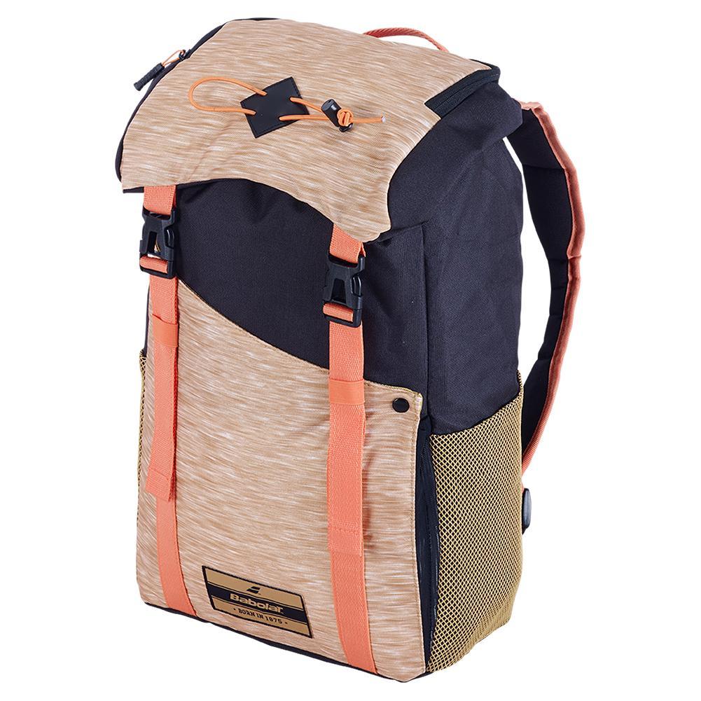 Classic Tennis Backpack Black And Beige