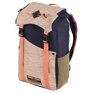 Classic Tennis Backpack Black and Beige