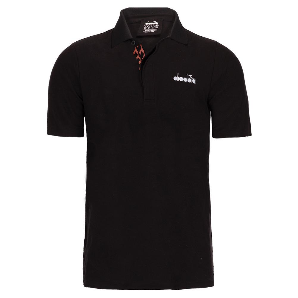 Men's Statement Short Sleeve Tennis Polo