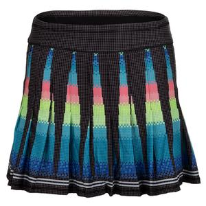 Women`s Long Pleated Tennis Skort Squared Up