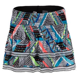 Women`s Smocked Tennis Skort Square Are You
