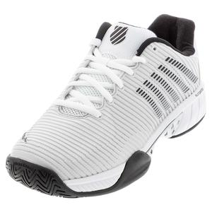 Men`s Hypercourt Express 2 Wide Tennis Shoes Barely Blue and White