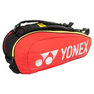 Pro Racquet 6 Pack Tennis Bag Red