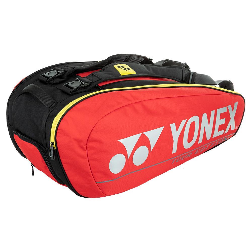 Pro Racquet 9 Pack Tennis Bag Red