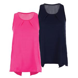 Women`s Tie Back Tennis Tank